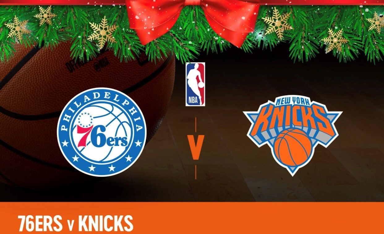 NBA Philadelphia 76ers Vs New York Knicks – Game Day Preview: Christmas Day 12.25.2017