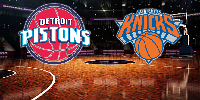 Detroit Pistons Vs New York Knicks