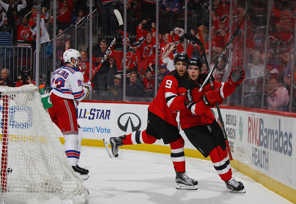 DEVILS HOPE TO CLINCH PLAYOFF BERTH VS. RANGERS