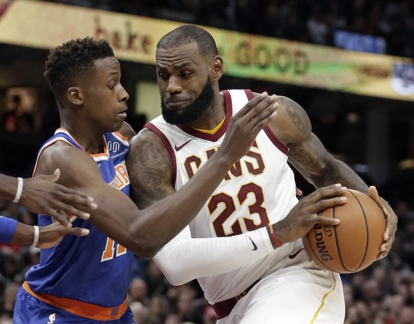 The Final Game. New York Knicks Face Off Against The Cleveland Cavaliers