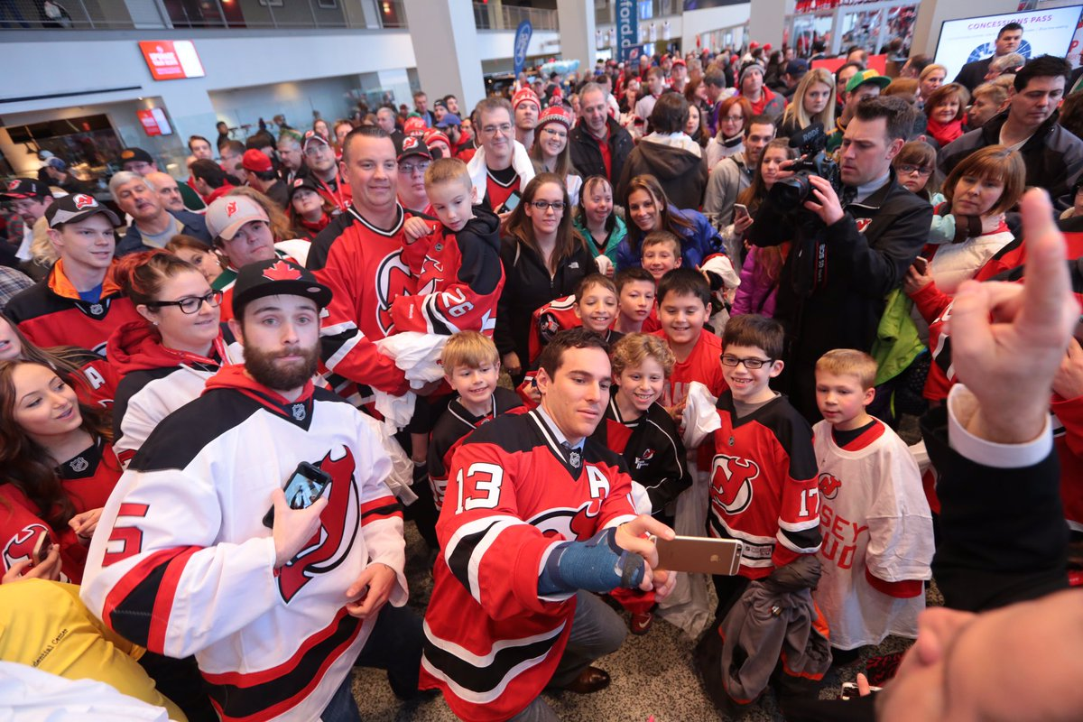 DEVILS AIM TO CLINCH ON FAN APPRECIATION NIGHT
