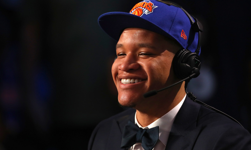 Knicks Take Small Forward Kevin Knox at 9, Pass Over Bridges, Porter.