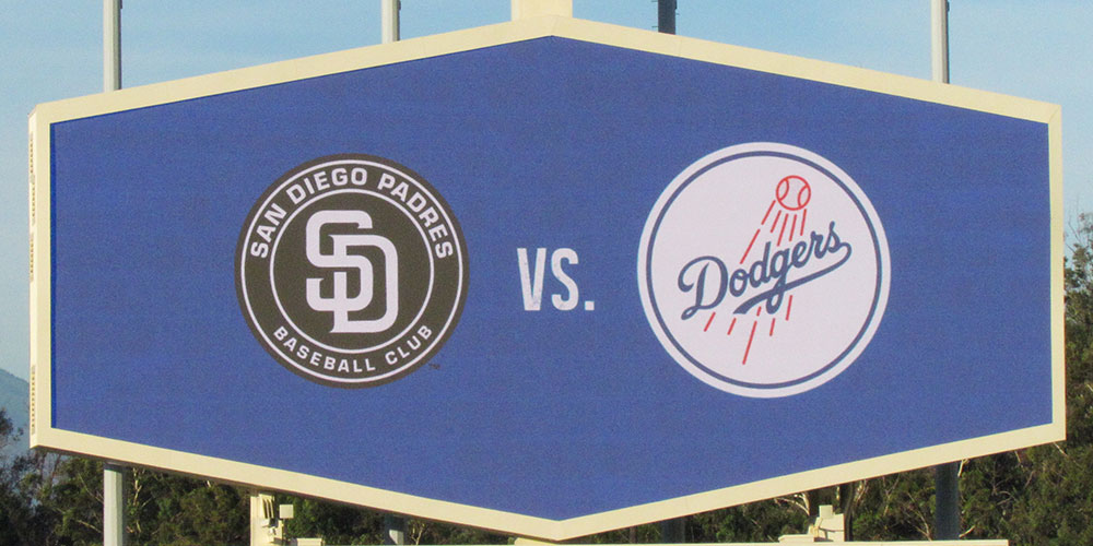 MLB NETWORK SAN DIEGO PADRES VS LOS ANGELES DODGERS THURSDAY NIGHT BASEBALL