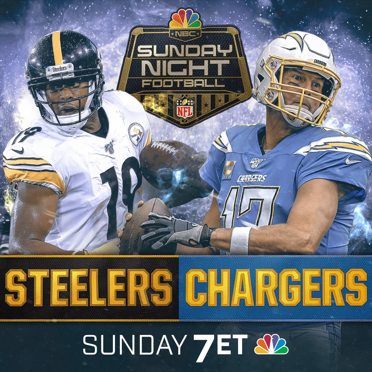 Sunday Night Football – Pittsburgh Steelers Vs Los Angeles Chargers – Game Day Preveiw
