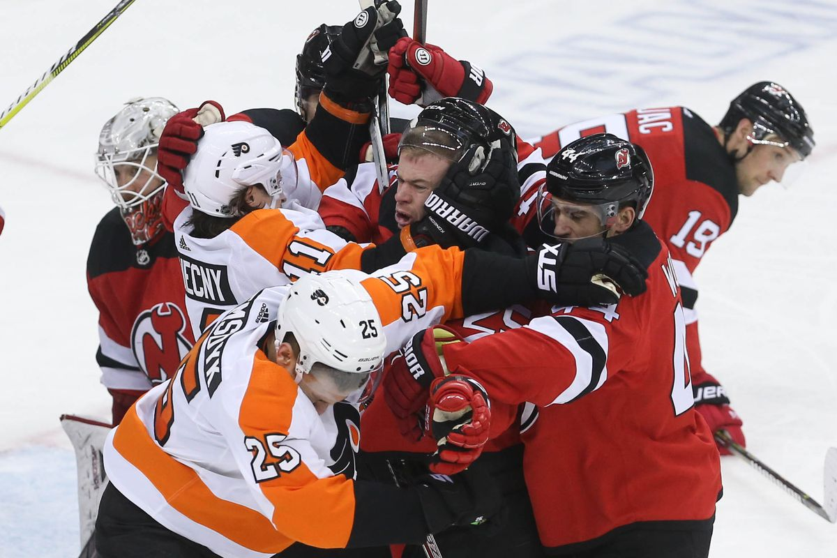 New Jersey Devils Vs Philadelphia Flyers October 9th 2019 Game Day Preview