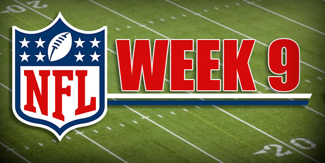 Rise & Shine – NFL Week 9 – November 3, 2019