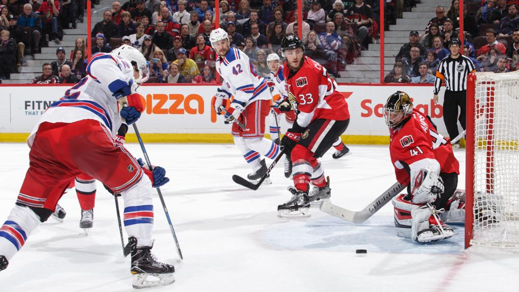 NHL New York Rangers Vs Ottawa Senators – Game Day Preview:  11.22.2019