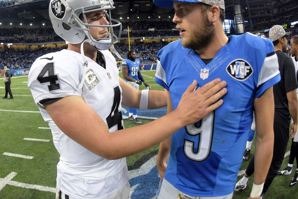 Detroit Lions Vs Oakland Raiders – NFL Week 9 – Overview, Trends, Preview & Picks