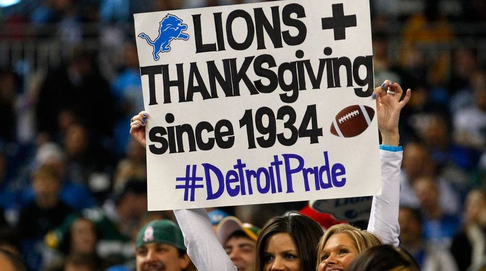 Thanksgiving Day Football – Chicago Bears Vs Detroit Lions Game Day Preview
