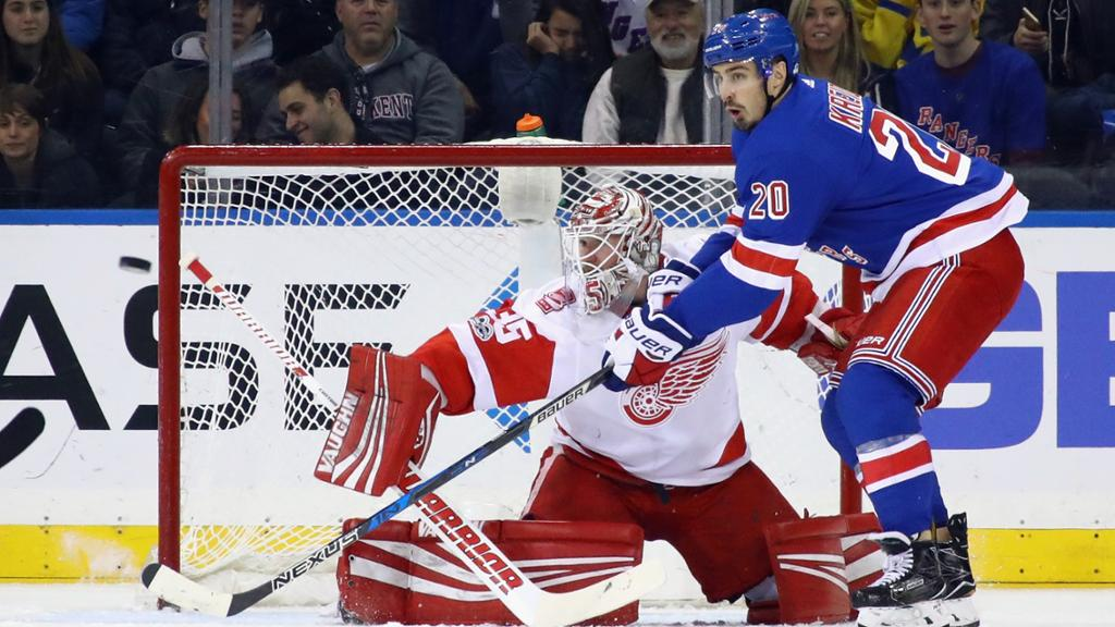 NHL Detroit Red Wings Vs New York Rangers – Game Day Preview: 11.06.2019