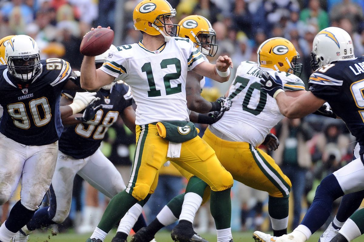 Green Bay Packers Vs Los Angeles Chargers
