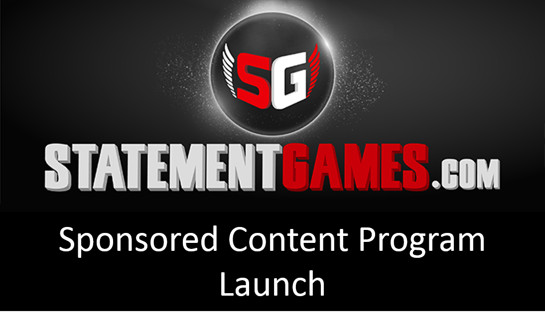 StatementGames Inc. Unveils Sponsored Content Program Further Connecting Brands with Sports Fans