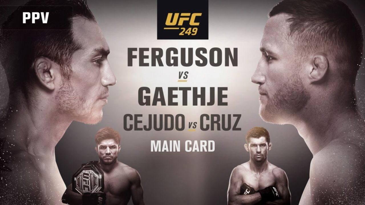 UFC 249 Fight Card Preview and Predictions