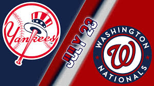 New York Yankees Vs Washington Nationals – MLB Game Day Preview: 07.23-26.2020