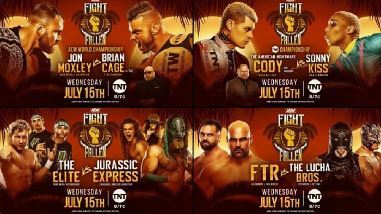 AEW Fight For The Fallen Preview and Predictions