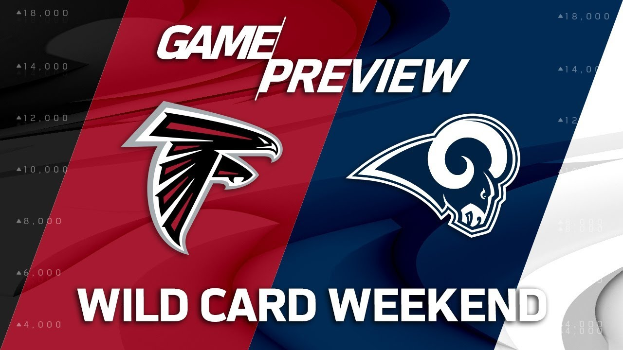 NFL WildCard Atlanta Falcons Vs Los Angeles Rams Game Day Preview: 01.06.2018