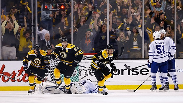 NHL Toronto Maple Leafs Vs Boston Bruins – 2018 Playoffs Series Preview