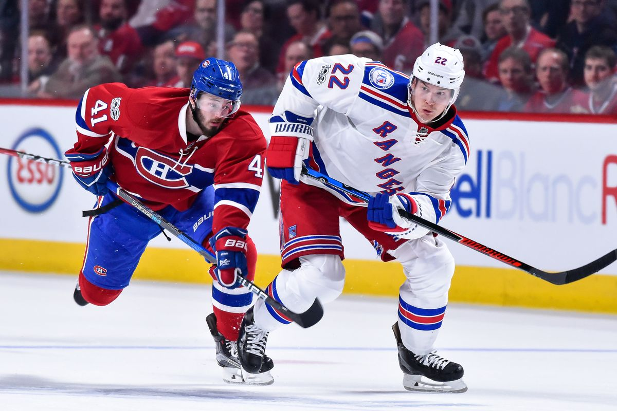 NHL New York Rangers Vs Montreal Canadiens – Game Day Preview:  11.23.2019