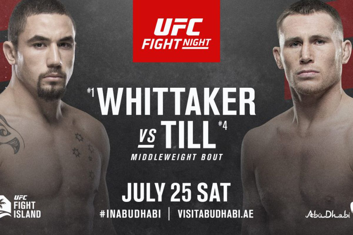 UFC Fight Night: Whittaker vs. Till Preview and Predictions