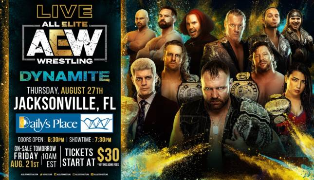 AEW Dynamite Preview and Predictions: August 27, 2020
