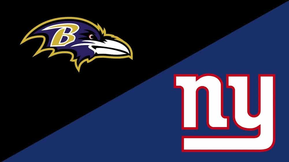 New York Giants Vs Baltimore Ravens-Game Day Preview: 12.27.2020