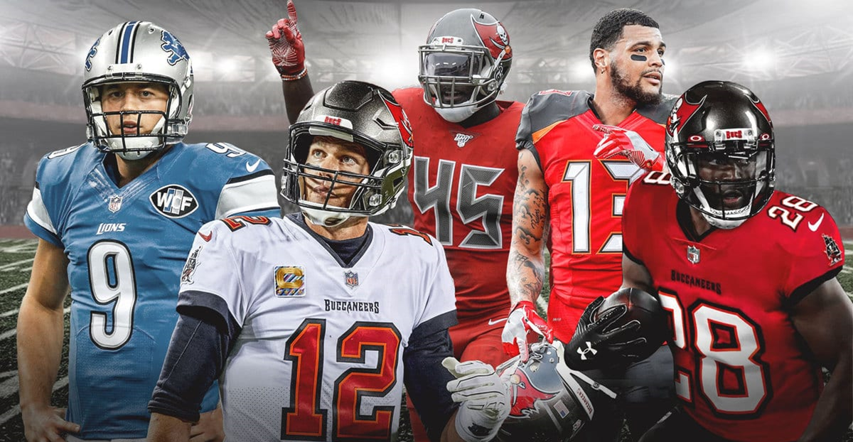 Tampa Bay Buccaneers Vs Detroit Lions-Game Day Preview: 12.26.2020