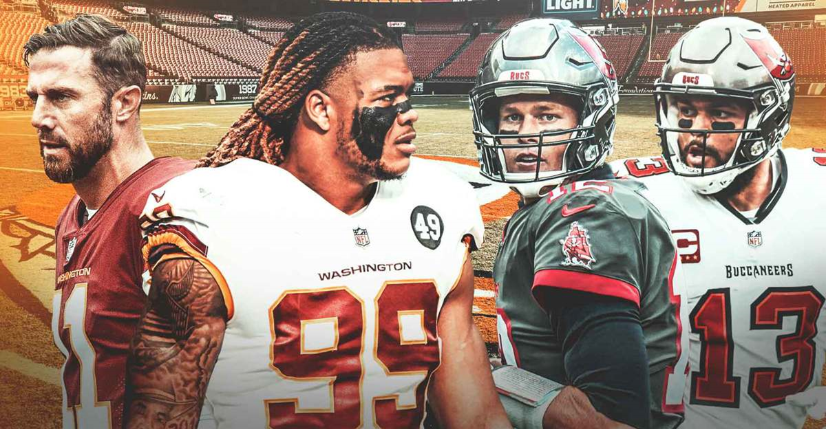 Tampa Bay Buccaneers Vs Washington Football Team-Game Day Preview: 01.09.2021